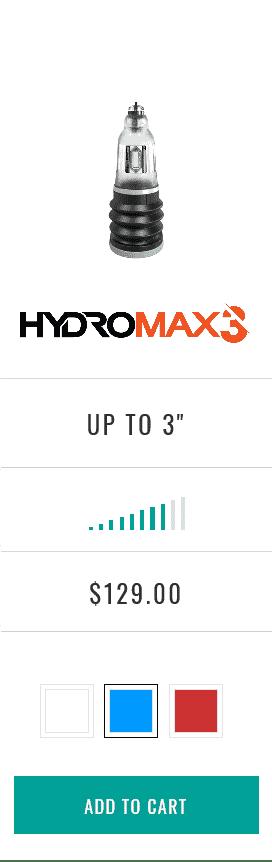 Hydromax3