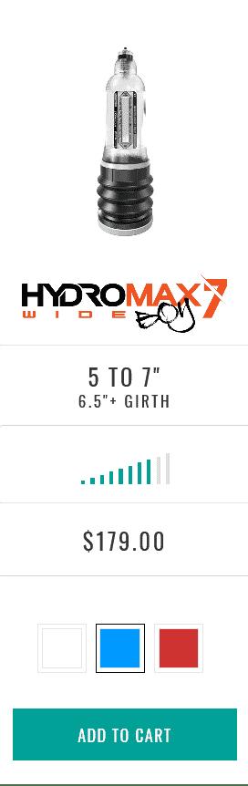Hydromax7 Wide Boy
