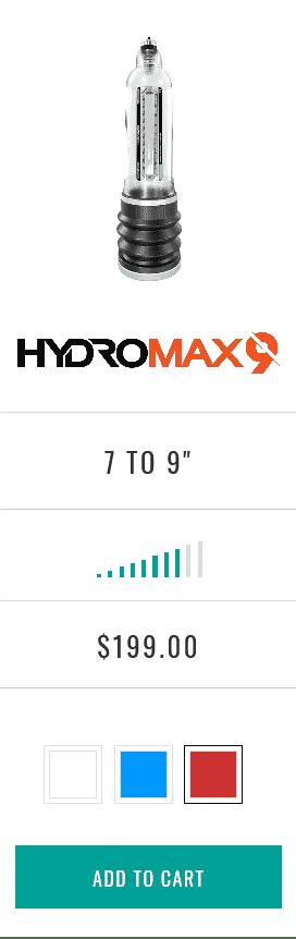 Hydromax9
